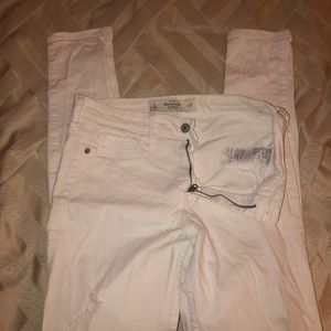 Abercrombie distressed jeggings